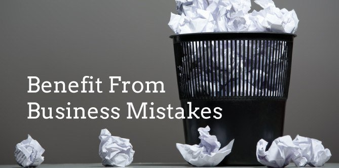 """Making Mistakes and """"Deliberate Mistakes"""" in Business"""
