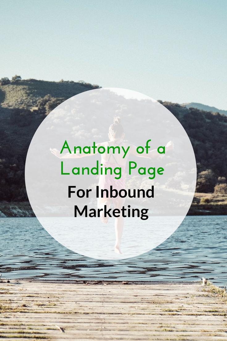 Anatomy of a Landing Page for Inbound Marketing